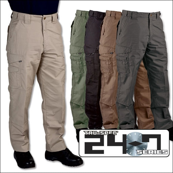 Tru-Spec 24-7 Tactical Poly//Cotton Rip-Stop Pants