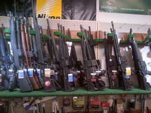 A liberal think tank is proposing a number of measures including a permitting process in place of a federal assault weapons ban. (Photo: Chris Eger)
