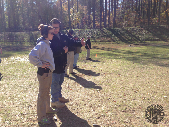 Victory First Fundamentals of EDC - concealed carry Kate Schooley AAR26