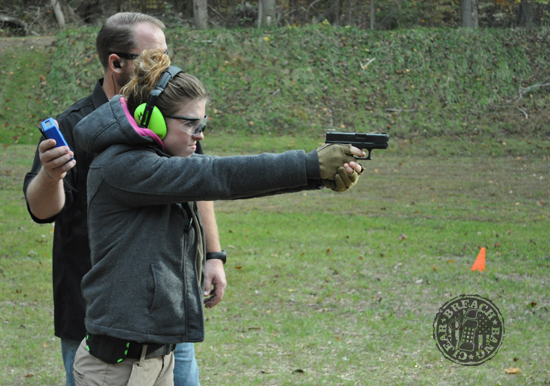 Victory First Fundamentals of EDC - concealed carry Kate Schooley AAR41