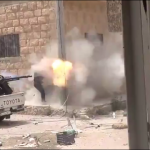friendly fire with aa gun 150x150 British SAS and Delta Forces saved Kobane from Jihadists