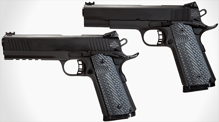 Rock Island Armory shipping four new single-stack  22 TCM