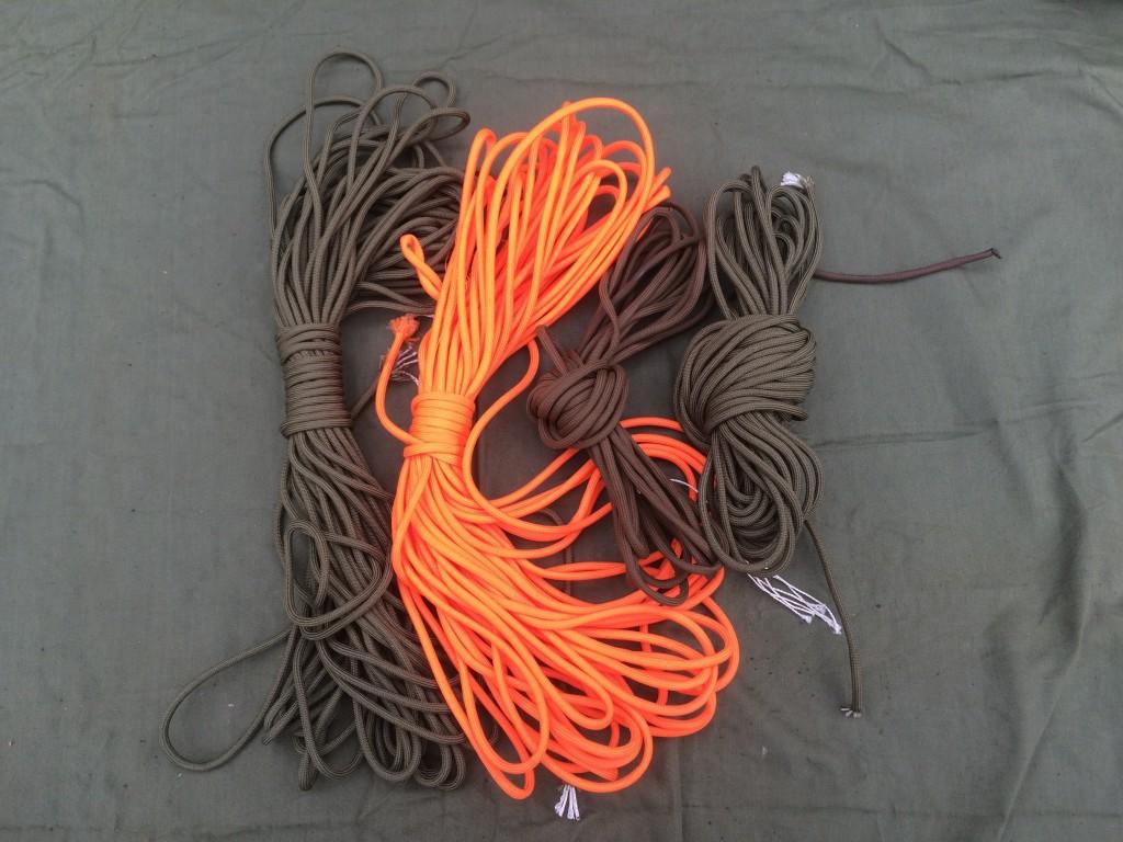 survival kit series cordage
