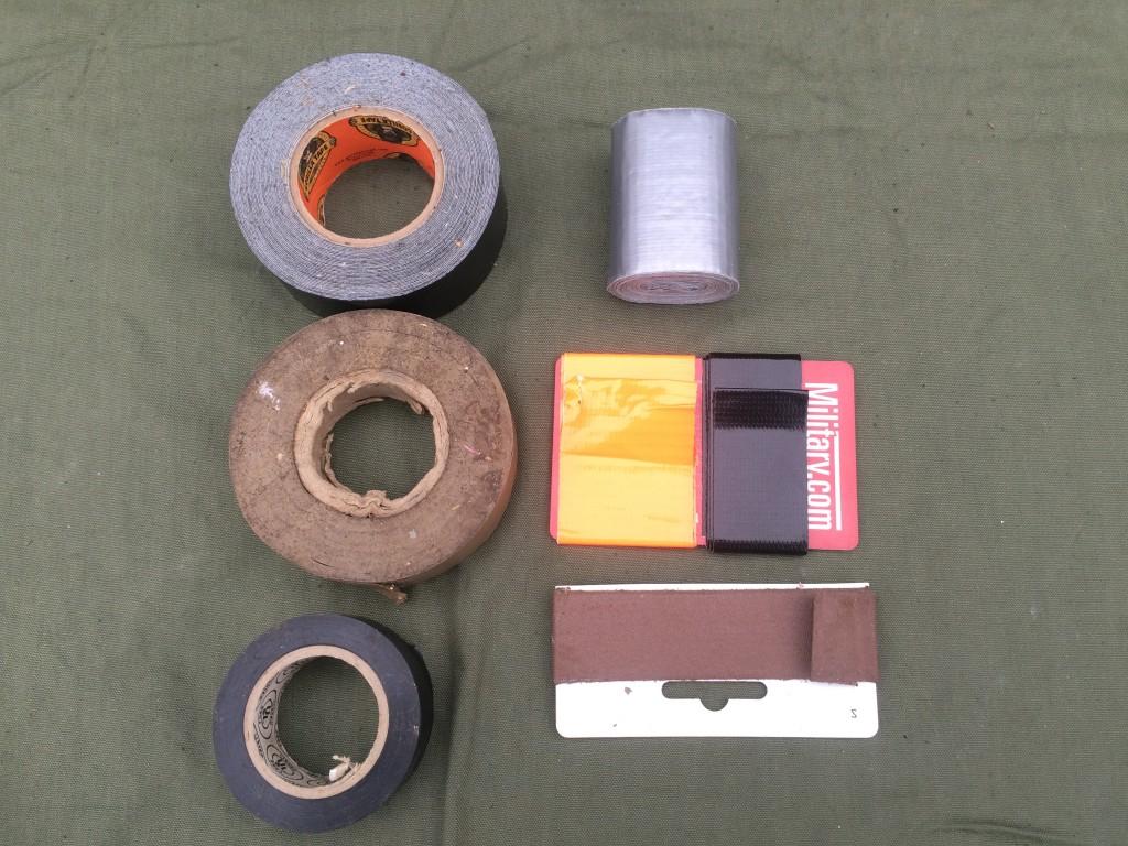 survival kit series cordage 4 tape