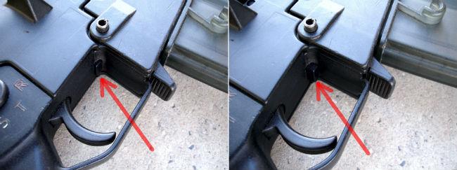 1. HK G36 E bolt retainer