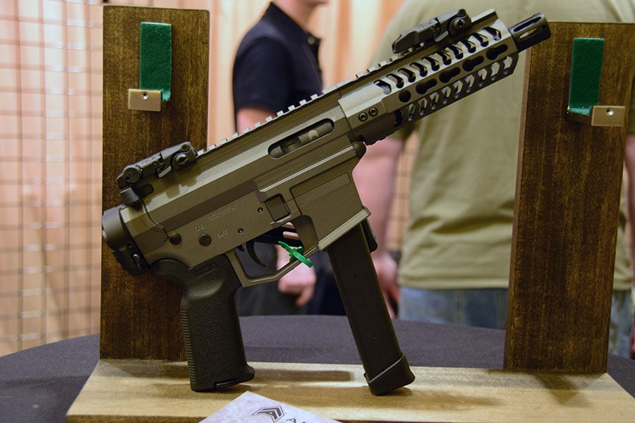 Angstadt Arms unveils 9mm Glock-mag folding AR15 - GAT Daily