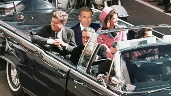 Brian Williams misremembers riding with the Kennedys