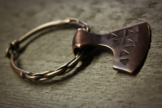 Faram Forge Axe brooch