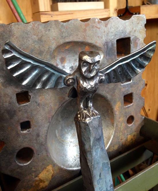 Faram Forge - barn owl sculpt