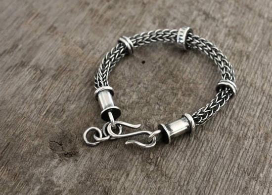 Faram Forge sterling silver bracelet