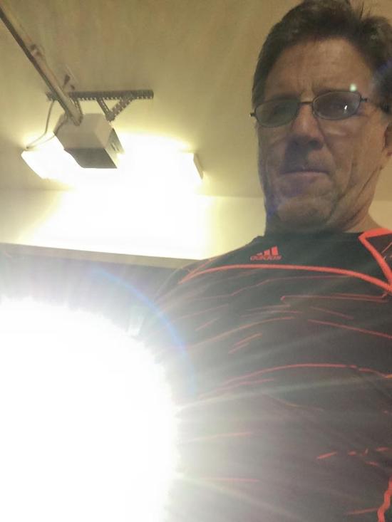 Ken J Good with Night Reaper spotlight