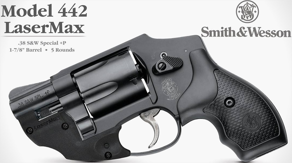 Four Smith & Wesson J-Frames now available with LaserMax sights