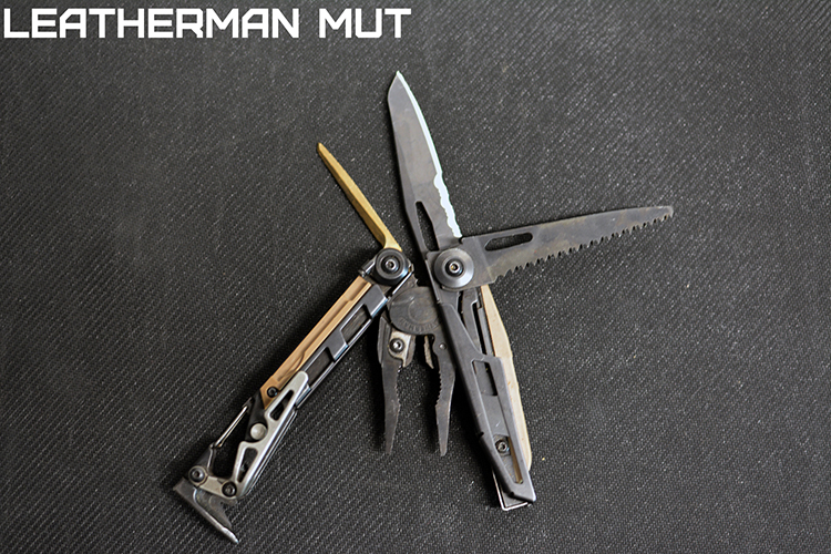 Multi Tool Throwdown - Aaron Cowan - Sage Dynamics - Leatherman MUT