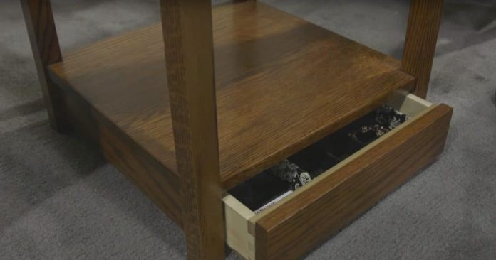 Secretly Stash Your Guns In This Furniture Video Gat Daily Guns