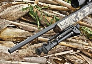 Howa gives you three different barrel options with the Mini Action: a 20-inch lightweight contour (shown), 22-inch standard contour and 20-inch heavy contour.