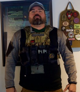 Just add armor and your protection is complete. This is the AT Armor lightweight plates in their new plate carrier.