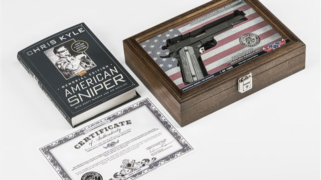 Limited edition Chris Kyle 1911 in charity auction