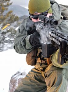 Between the effective muzzle device, outstanding Geissele trigger and top-shelf Nightforce optics, putting rounds on target proved exceedingly easy with the OPR-16.