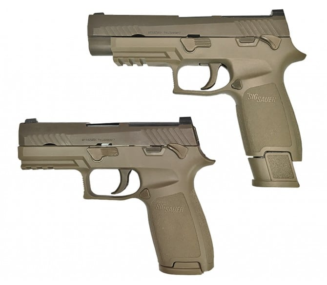 The M17 and The Marine Corps  Will the P320 retire the M9