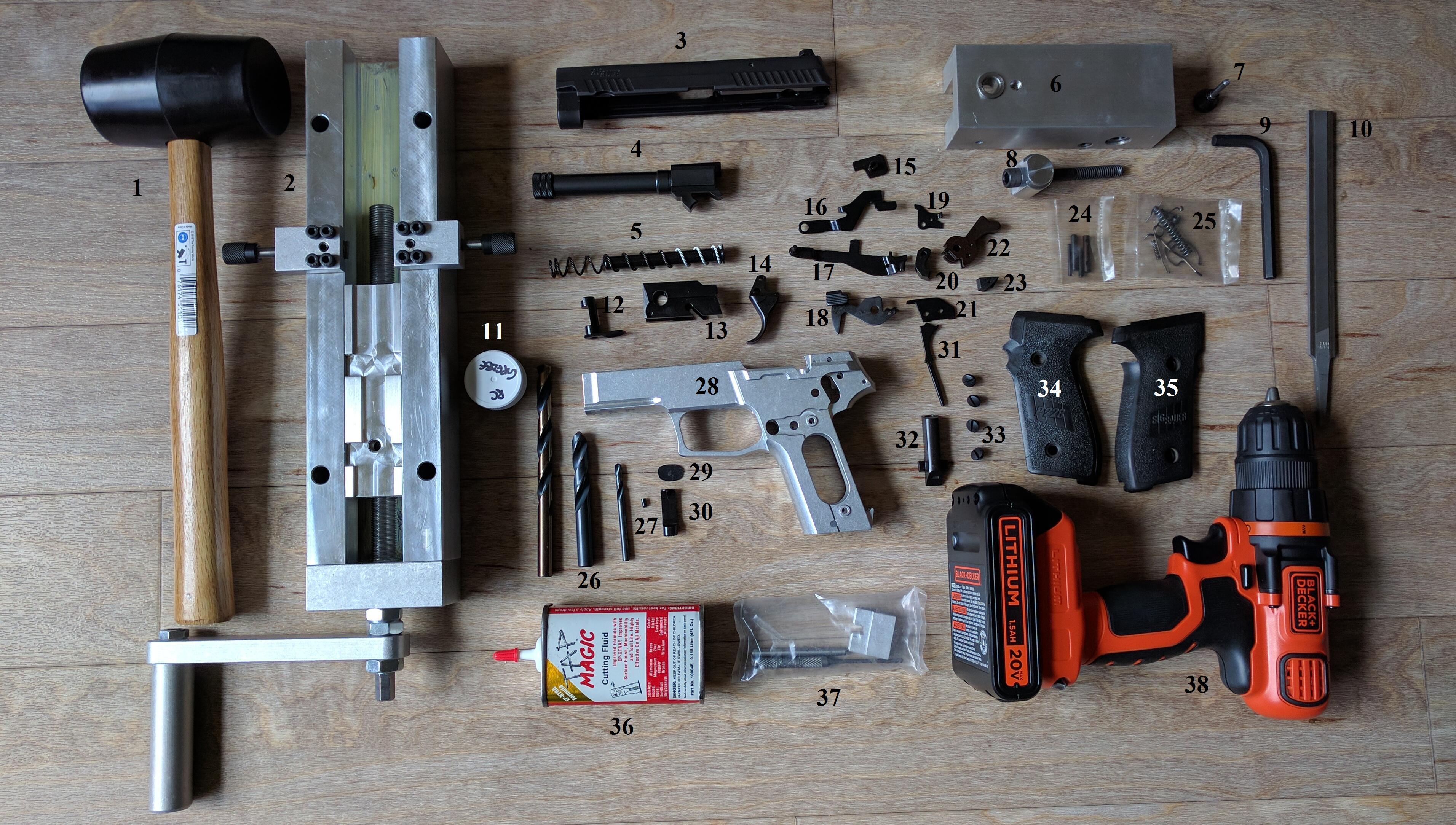 Build Your Own Gun: Homebuilding a SIG P229 with Matrix