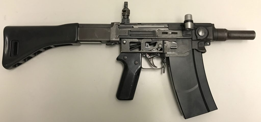 Stgw57 Assault Rifle Alpine Style Clear As Ice Edition