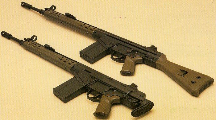 The last Sturmgewehr: German H&K G3 and the American PTR 91