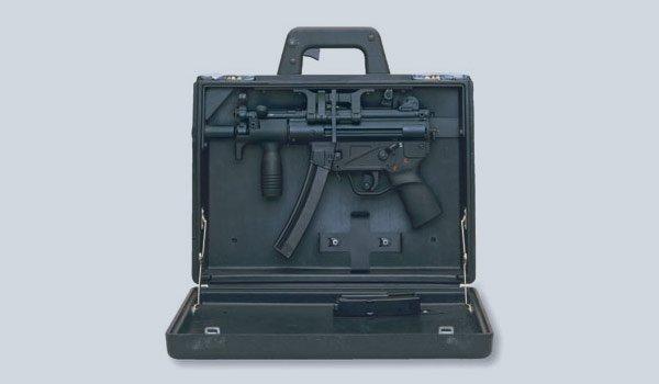 HK MP5 K in Briefcase