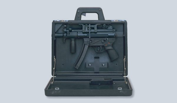 HK MP5 K in Briefcase