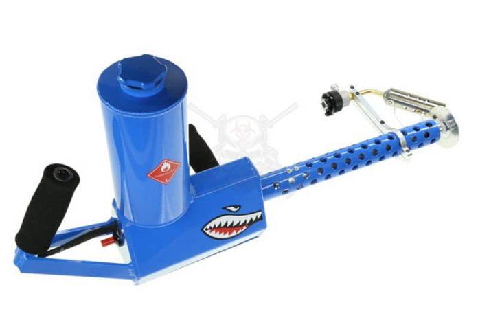 think you are prepared for teotwawki got xm42 flamethrower gat