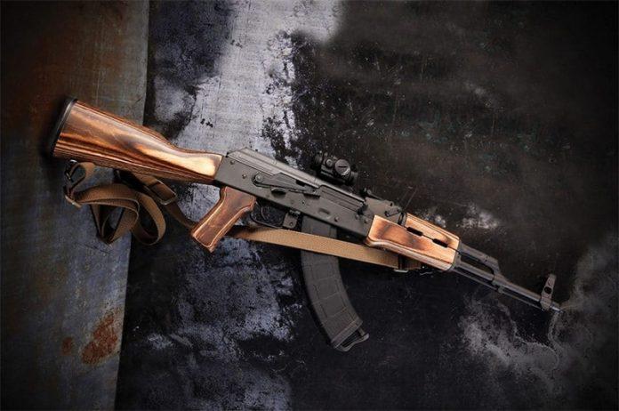 Boyds Laminated Hardwood AK-47 Furniture Set - GAT Daily