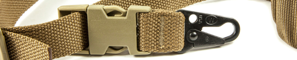 UDC Padded Bungee One Point Sling HK Hook Adapter