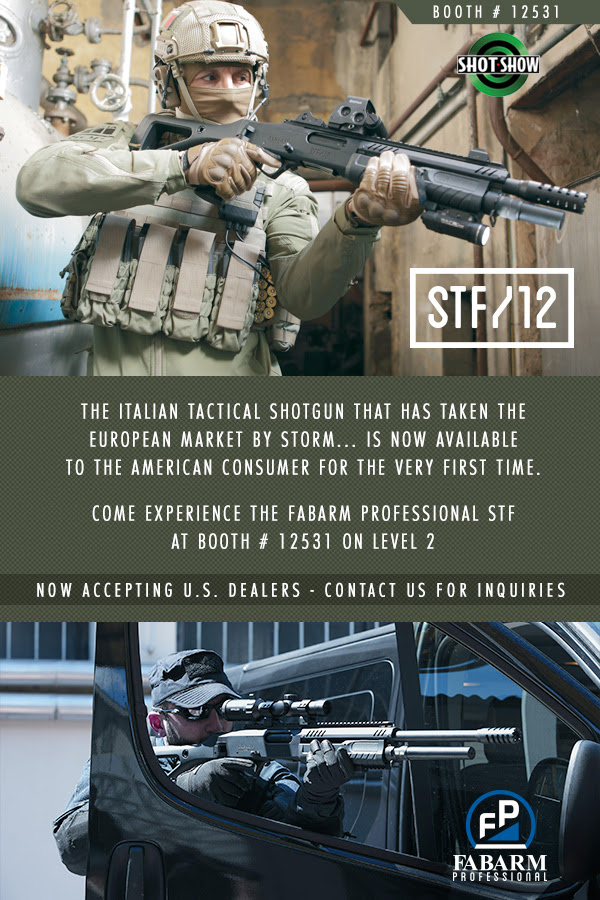 FABARM Professional STF 12 Gauge Coming to the States - GAT Daily