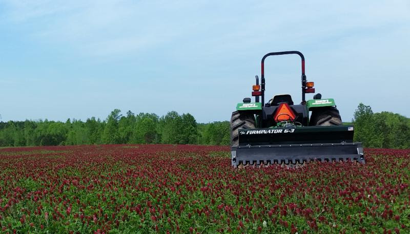 Food plots installation with Firminator