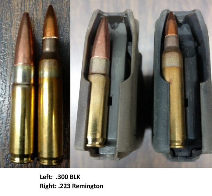 Catastrophic Failure Loading 300 Blackout Ammo Into A