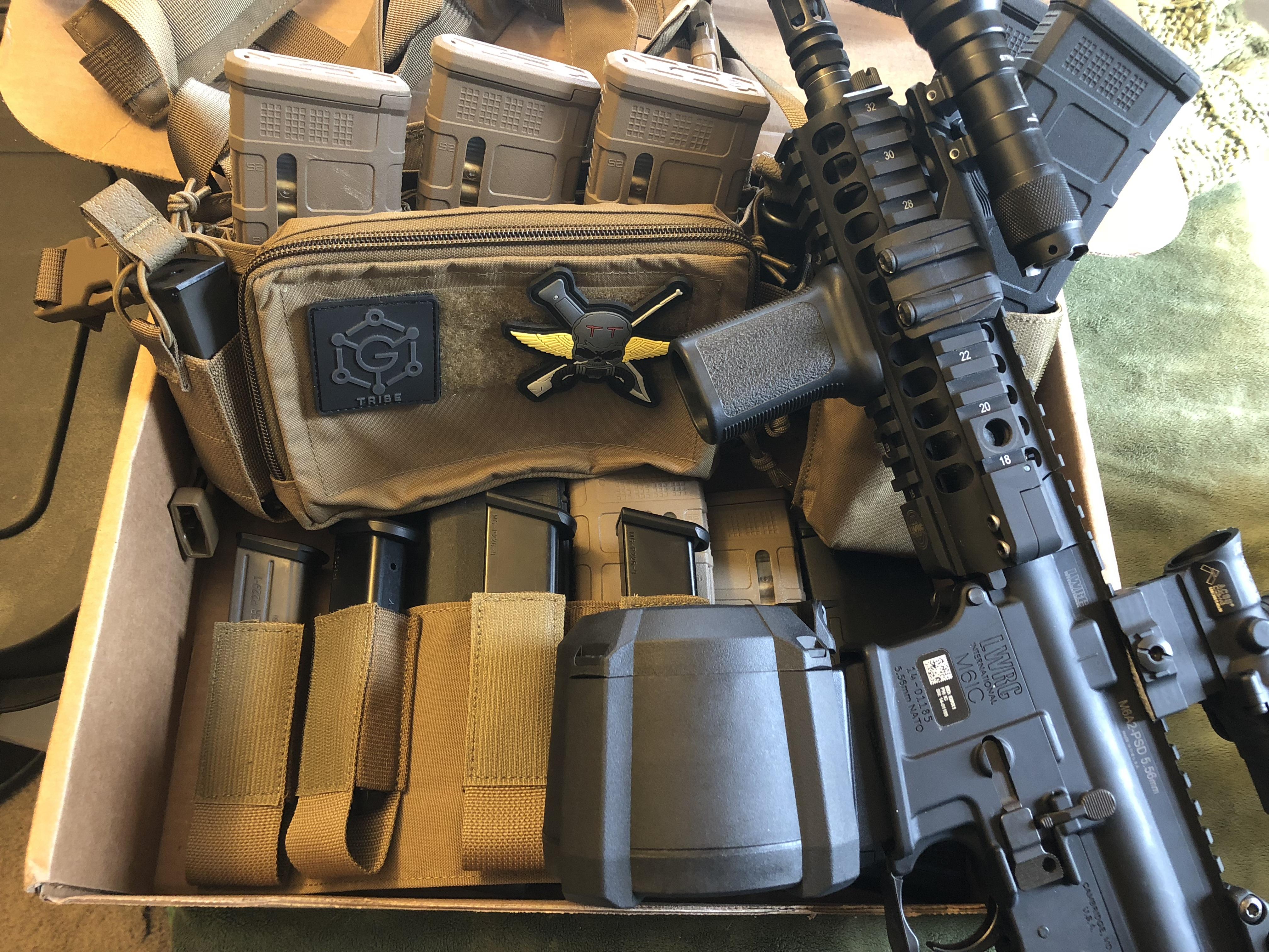 haley strategic chest rig micro