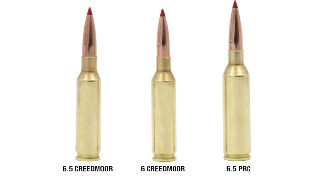 Image result for 6.5 prc vs 6.5 creedmoor
