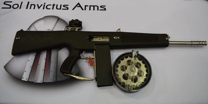 The AA-12 ...