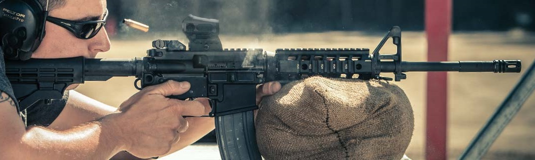 Introduced in 2011, Sig's M400 currently come standard with M-LOK handguards and a 6-position stock. (Photo: Sig)