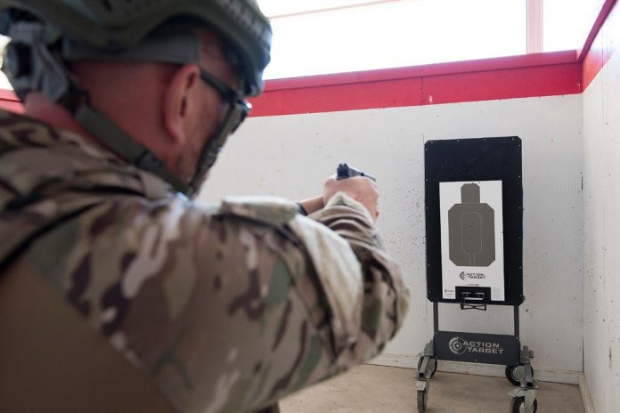 Action Target's New Bullet Trap Lifter Enhances Military