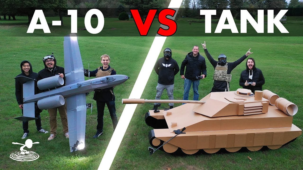 How About A Giant Rc A 10 Warthog With A Working Airsoft Cannon
