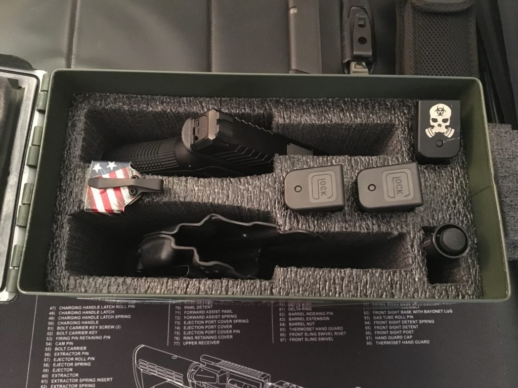 Case Club: Turn your 50 cal ammo can into a 2 pistol case
