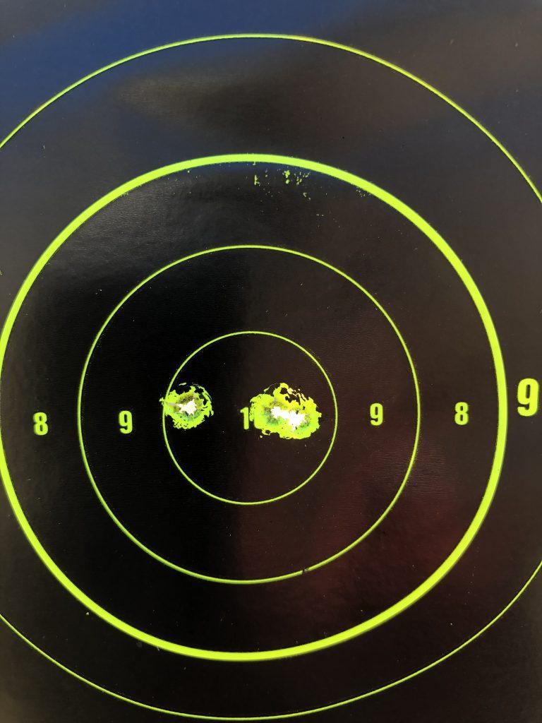 sighting on the range