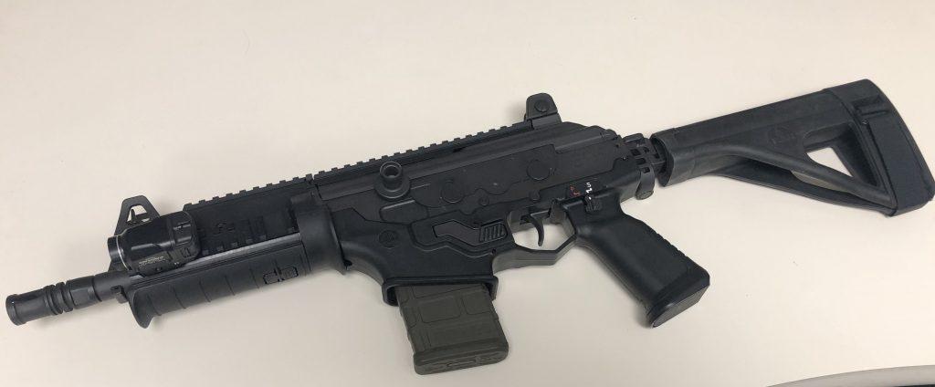Minimalist defensive carbine with a light Galil ACE