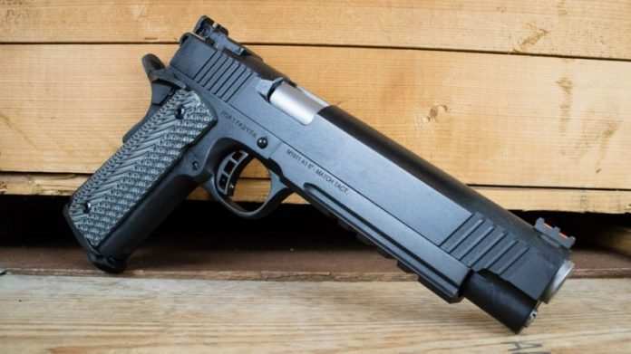 Rock Island Armory's Comfy Cannon, the 6 inch 10mm 1911