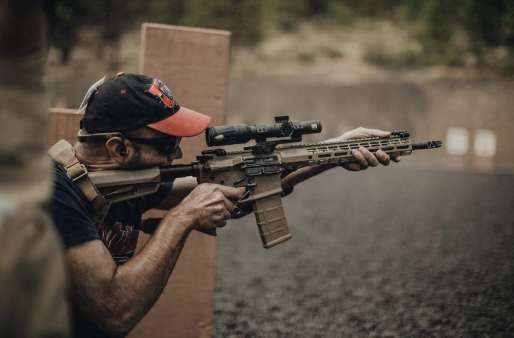 aero precision ballistic advantage rise armament and eotech come together on thunder ranch