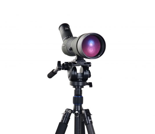 Meopta Carbon Fiber Tripod and MeoPro HD 80 Spotting Scope