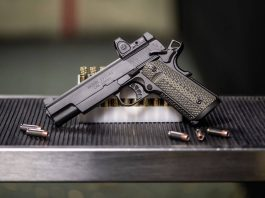 springfield trp 10mm with rmr 1911