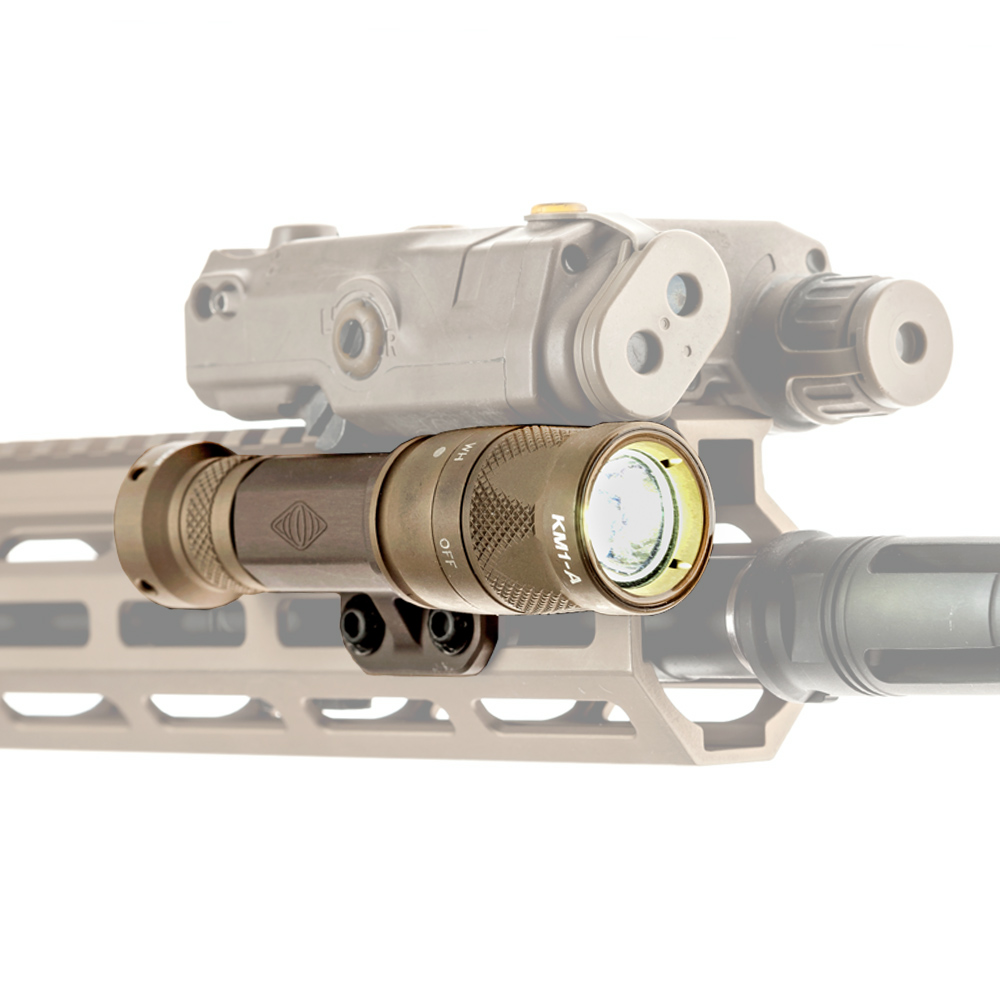 The TORCH is designed to seamlessly work with top mounted laser systems like the PEQ