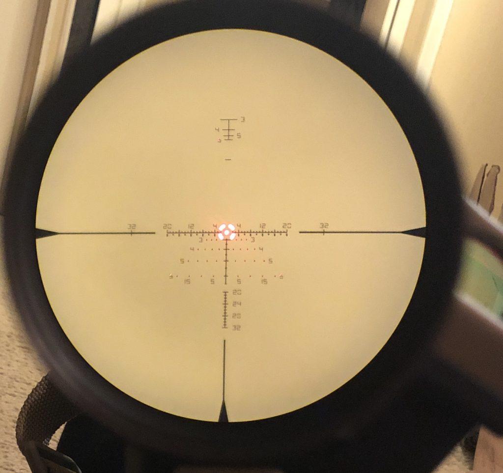 Vortex Razor HD Gen III 1-10x EBR-9 MOA reticle illuminated