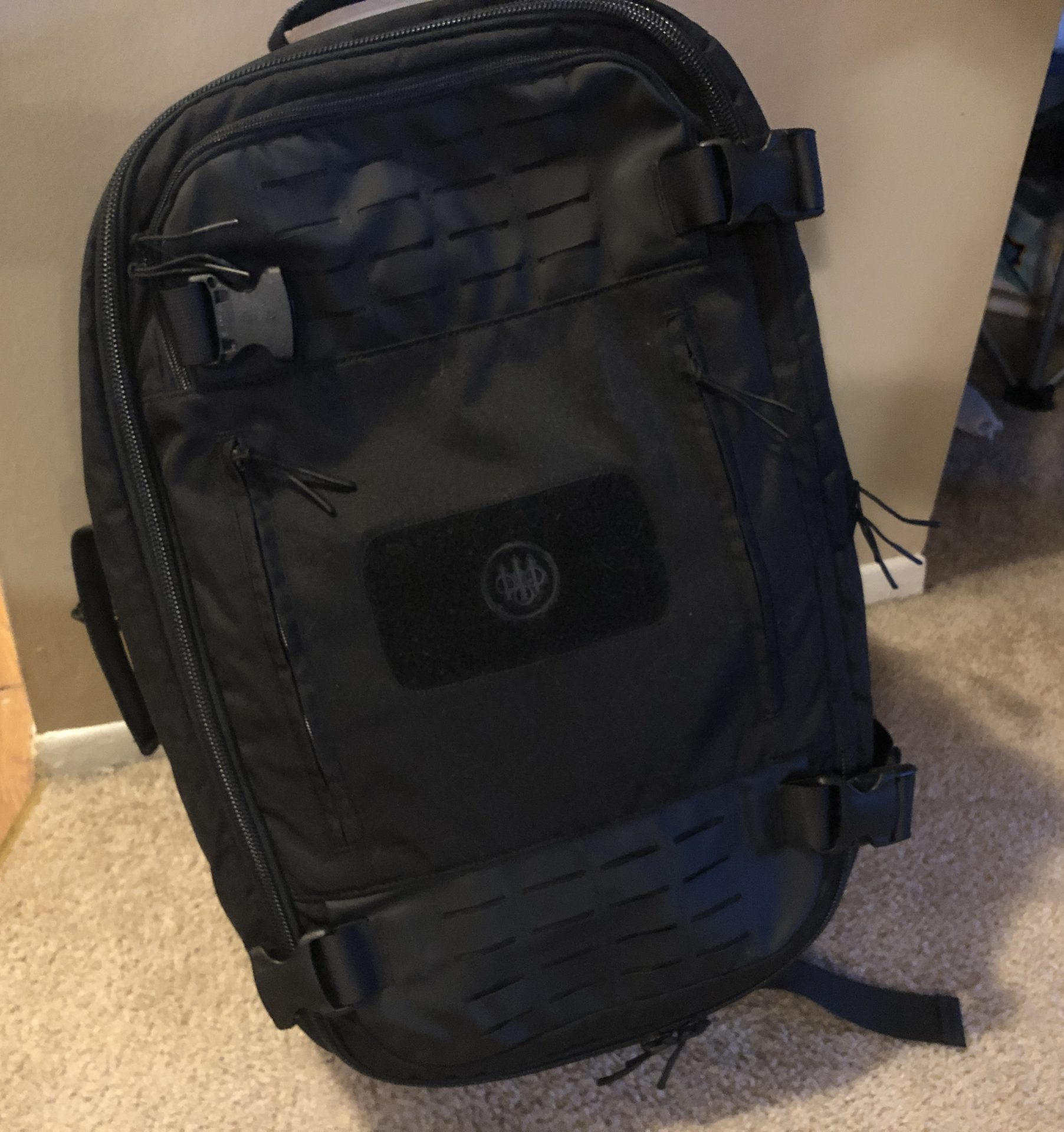 beretta field patrol bag ready to go by the door